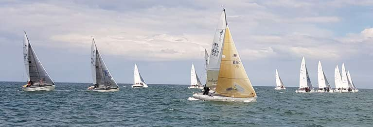 Jibe Wins J 24 Eastern Championships Hosted By Howth Yacht Club
