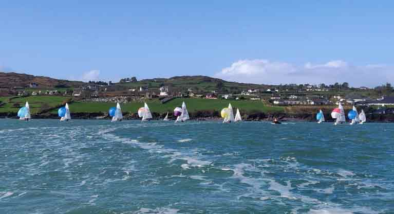 420 sailing at Schull week 2019