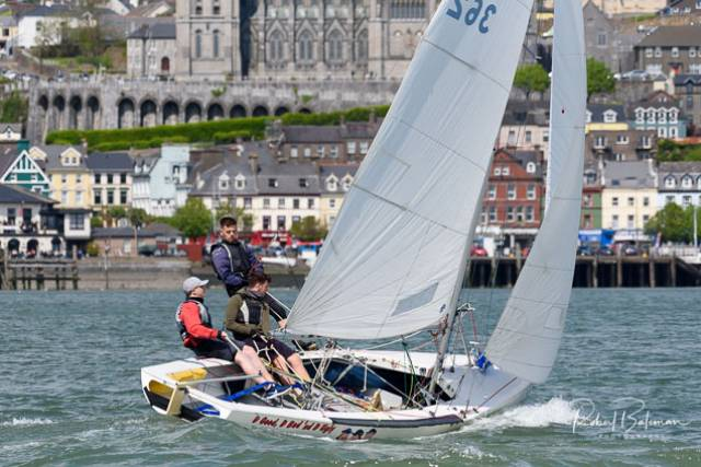 National 18 sailing Cork Harbour