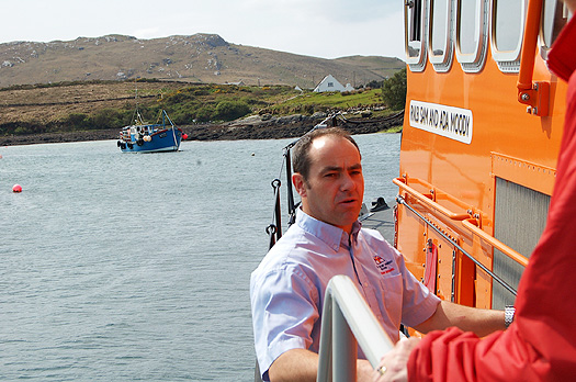 ACHILL ISLAND LIFEBOAT MECHANIC STEPHEN McNULTY