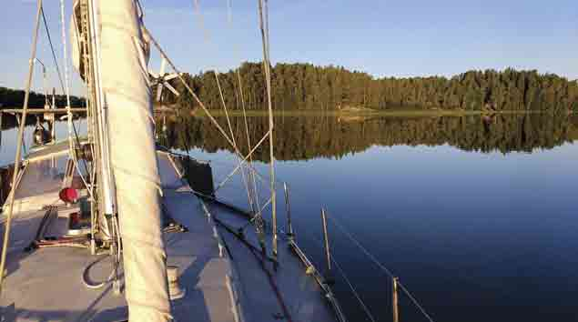Anchoring in Finland
