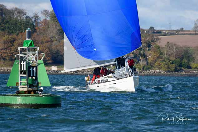 Approaching Mark in Cork Harbour
