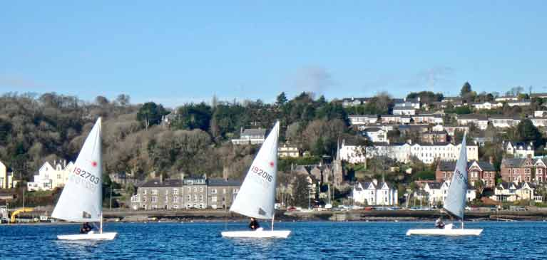Laser Monkstown Bay