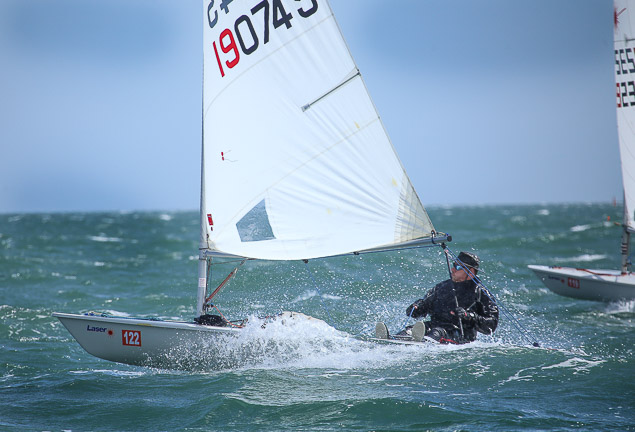 Laser Radial Masters start Dublin Bay 2412