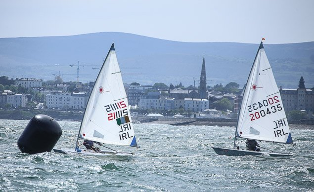 Laser Radial Masters start Dublin Bay 2447