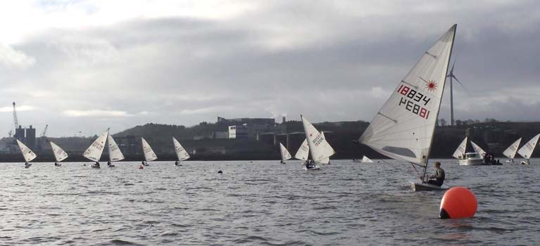 Laser dinghy Cork harbour2