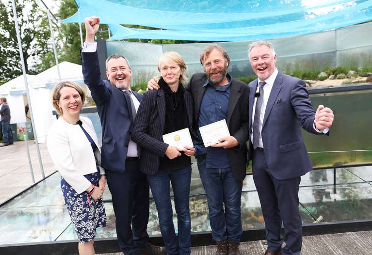 BIM MARINE GARDEN WINS GOLD AT BLOOM