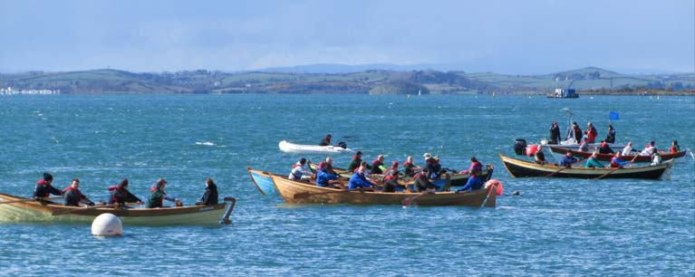 Northern Ireland coastal rowing