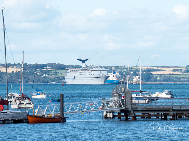 Cruise Liner in Cork Harbour