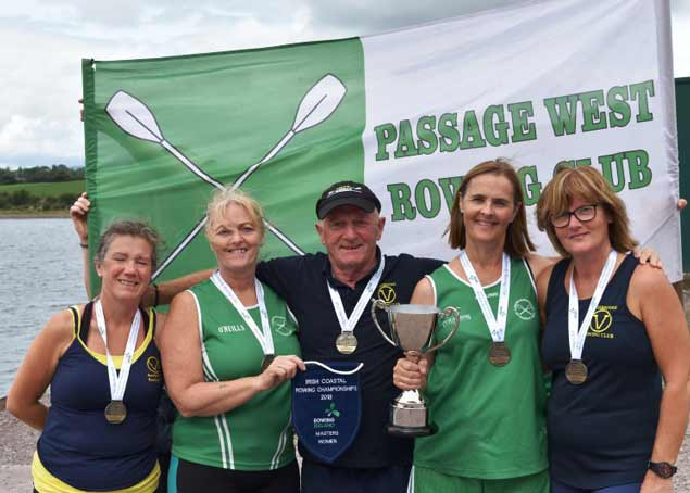 Passage West Rowing Club womens champions