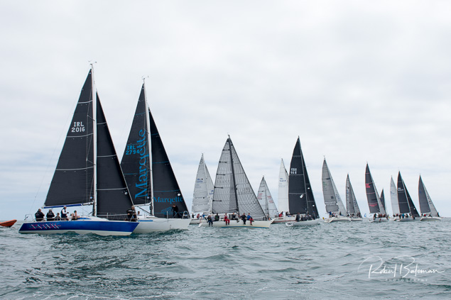 The Class Two Sovereign's Cup fleet