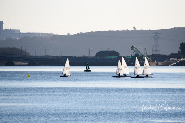 Monkstown Bay Laser dinghy racing Cork Harbour