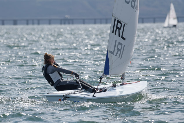 Eve McMahon in upwind mode