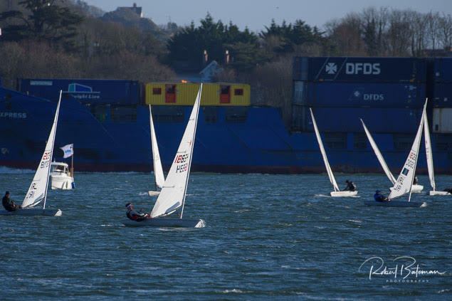 Monkstown Bay Laser dinghy Racing