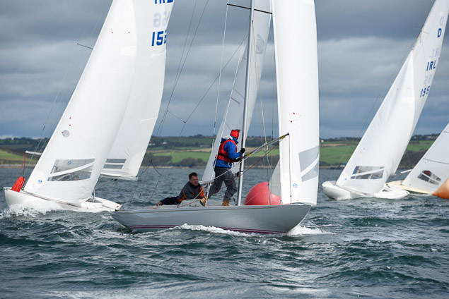 Dragon racing at Kinsale