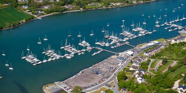 Royal Cork Yacht Club Marina in Cork Harbour