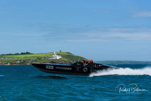 all black cork powerboat10