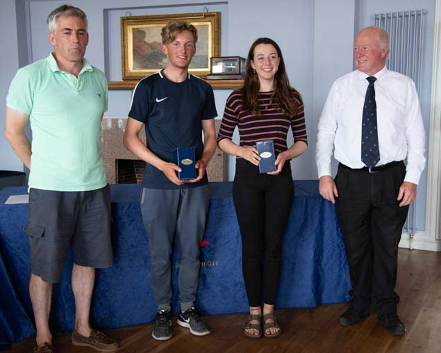 420 Nats 1st Gold and 2018 Open Champions Alex Colquitt and Rebecca Coles West Kirby Sailing ClubAnnadale Sailing Club