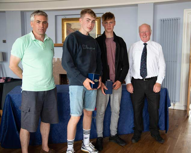 420 Nats 1st silver Daniel Hopkins and Robert OBrien Howth Yacht ClubClontarf Yachting and Boating Club