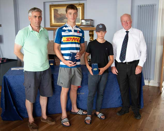 420 Nats 3rd silver Louis Mills and Harry Ingram Holyhead Sailing Club