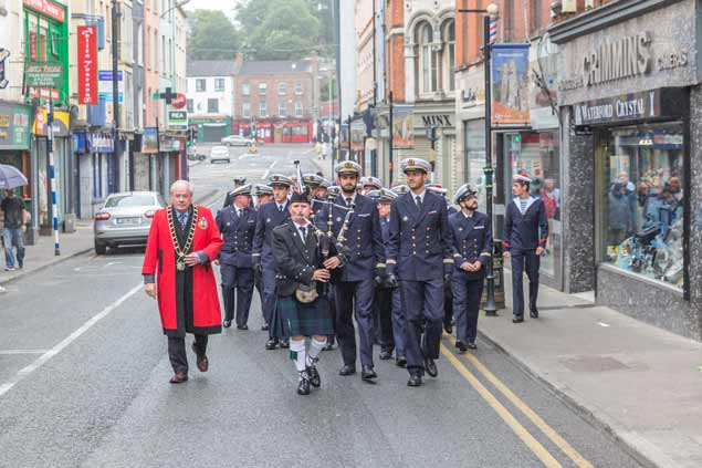 The Mission-to-Seafarers March at Drogheda Port