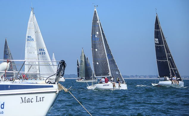 Class Two start RIYC Regatta 3490