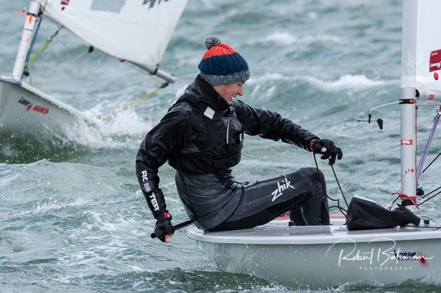 Laser dinghy racing RCYC1