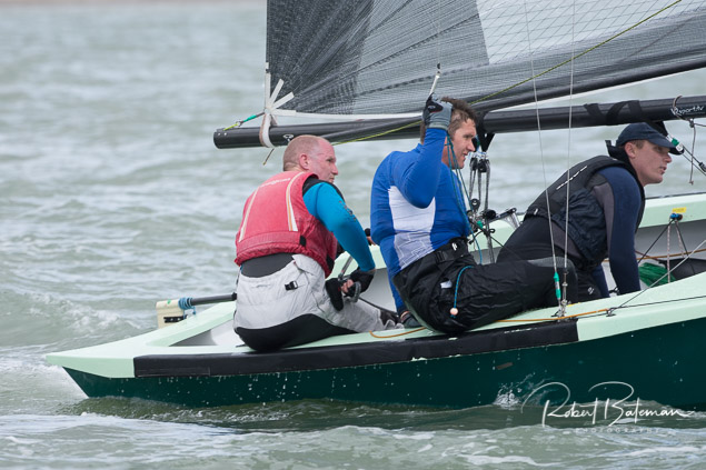 National 18 'Second Wave' skippered by Patrick Crosbie