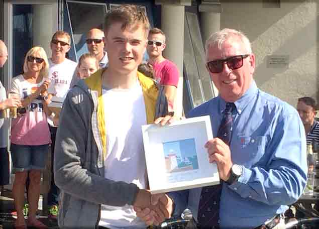 Peter Fagan Laser Radial Winner