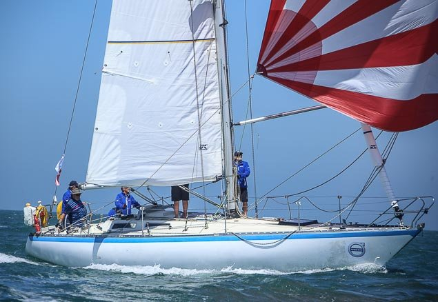 Round Ireland race start Cavatina 4423