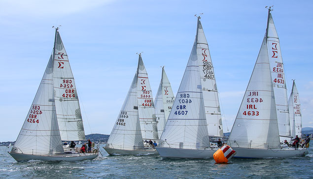 Scottish Visitors Dominate Sigma 33 Championships At Royal