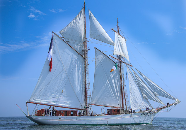 Tall Ship Belle Poule 3169