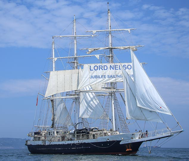 Tall Ship Lord Nelson 3147