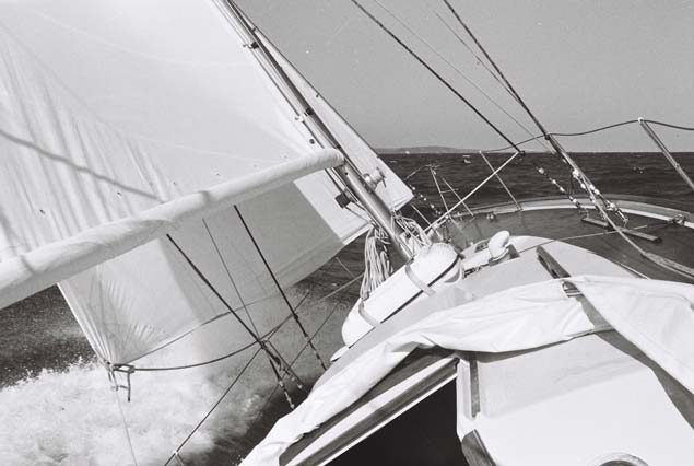 biscay36 1976 testsail10
