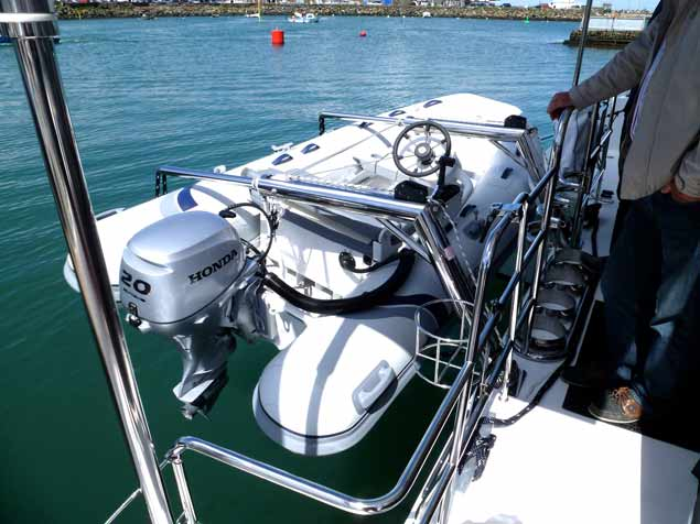 dinghy in davits13