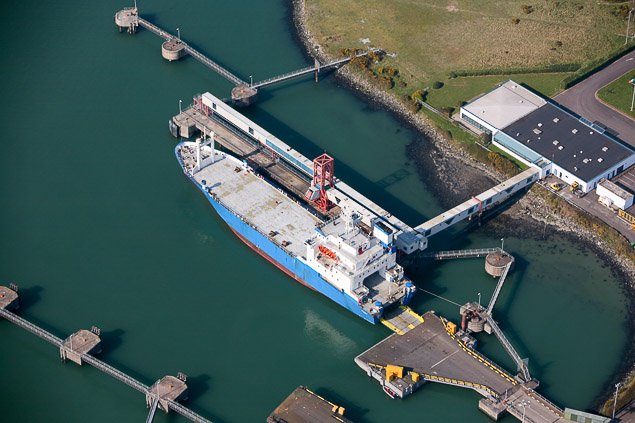 The existing deepwater berth at Ringaskiddy that is being developed Photo: Bob Batemam