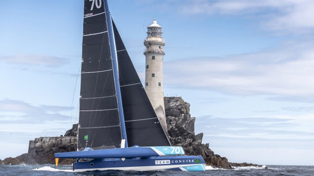 concise Fastnet rock