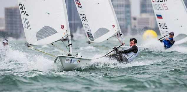 finn lynch sailing laser10