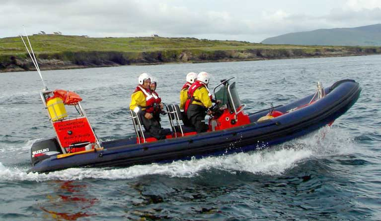 BALLINSKELLIGS COMMUNITY RESCUE BOAT