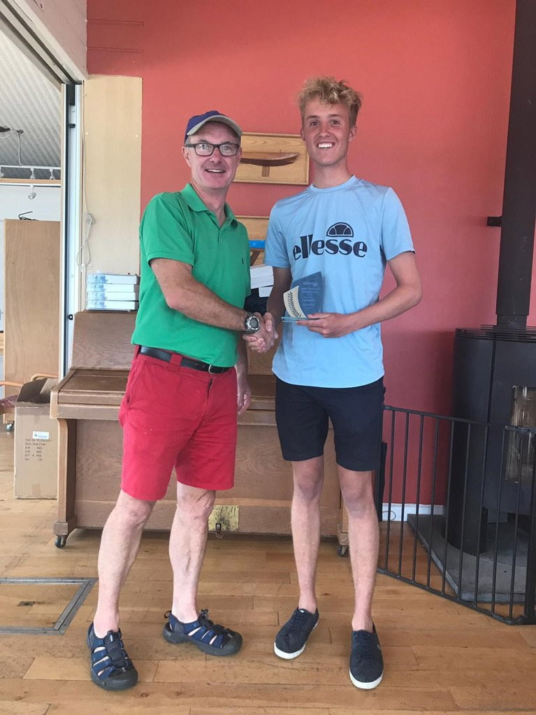 Tom Keal First Overall Laser Standard