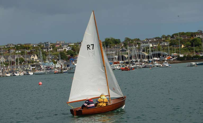 SAILING IN A RANKIN TO CROSSHAVEN