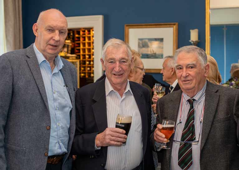 Gerry Dunleavy Peter Gray Tom Flodd Pic James Woods