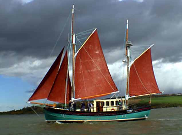 brian boru sail training