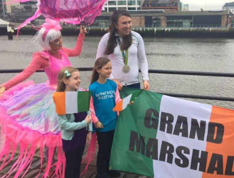 annalise Murphy St Patrick's day parade