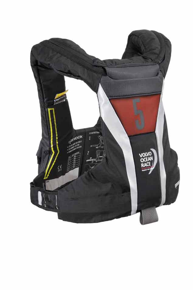 Spinlock VOR Lifejacket Back Left Quarter MR