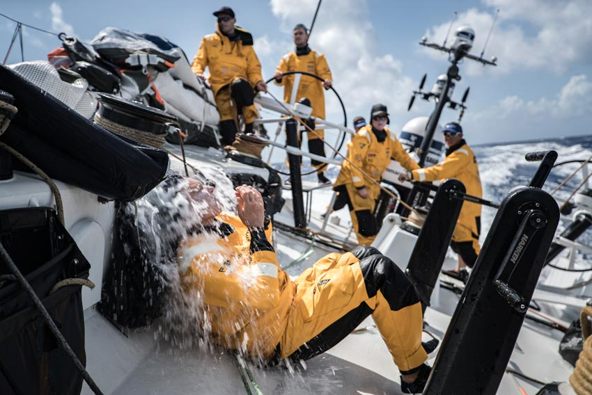 Volvo Ocean Race Fleet Closing The Game On Final Approach To US