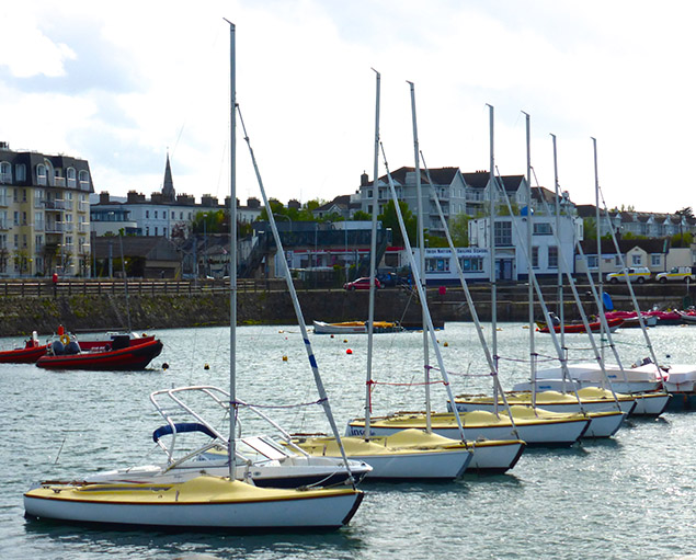 INSS Squib keelboat Dun Laoghaire