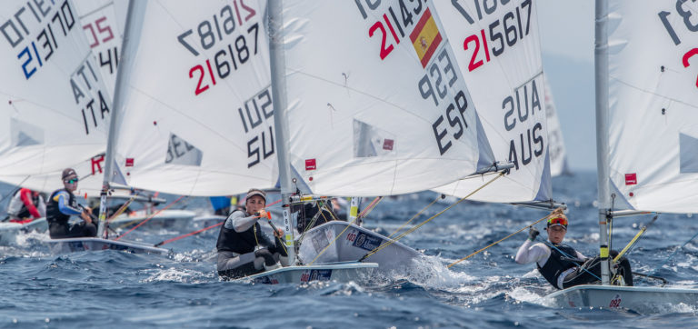 laser radial 2019 youth euros10