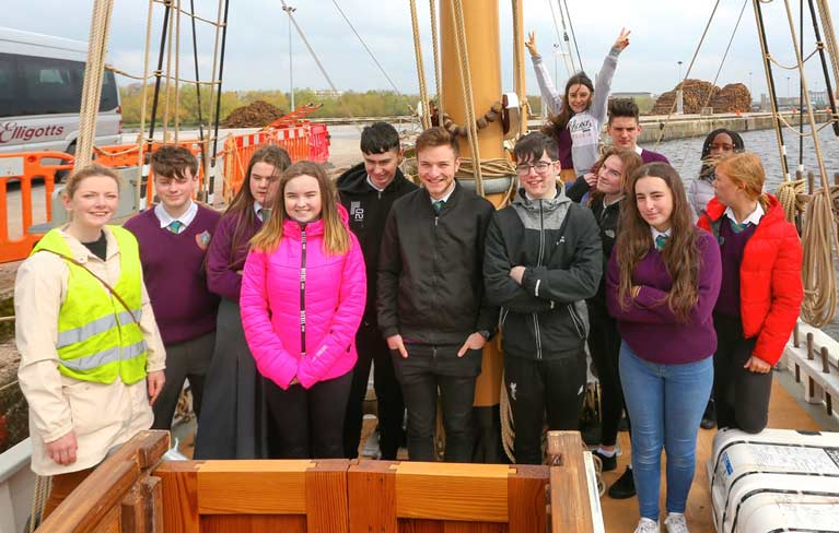 limerick students on ilen3