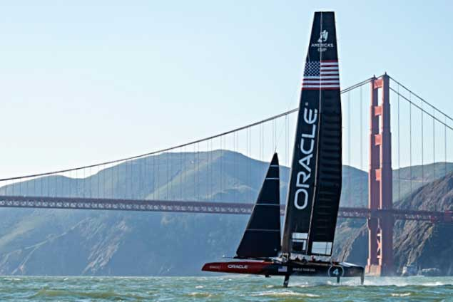 Americas Cup defenders Oracle 2